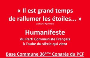 Photo Base commune 36e Congres PCF