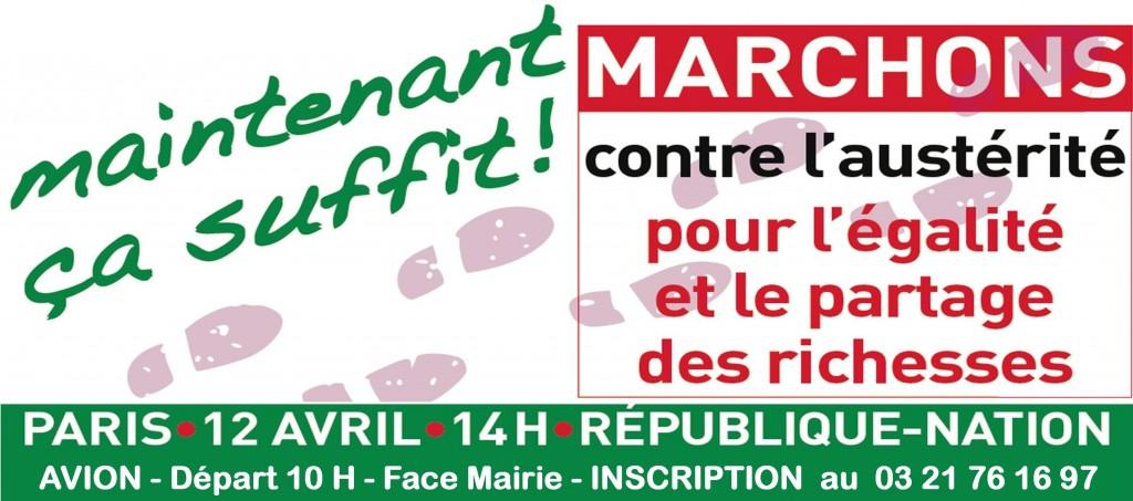 Marche paris 120414