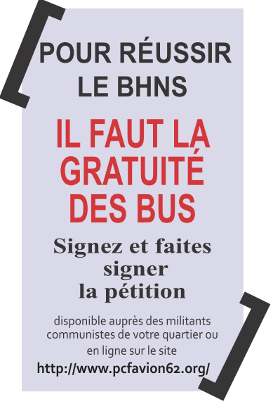 Pétition BHNS